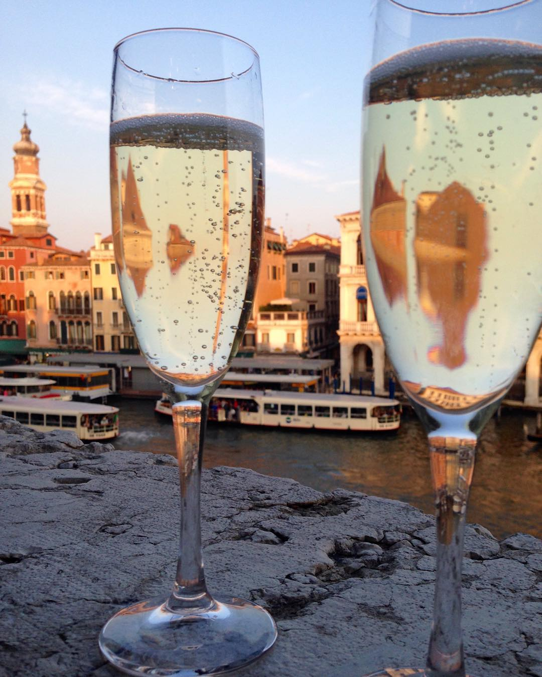 Lving this hotel room view of the grand canal! #venice #venezia #honeymoon #birnbaumified