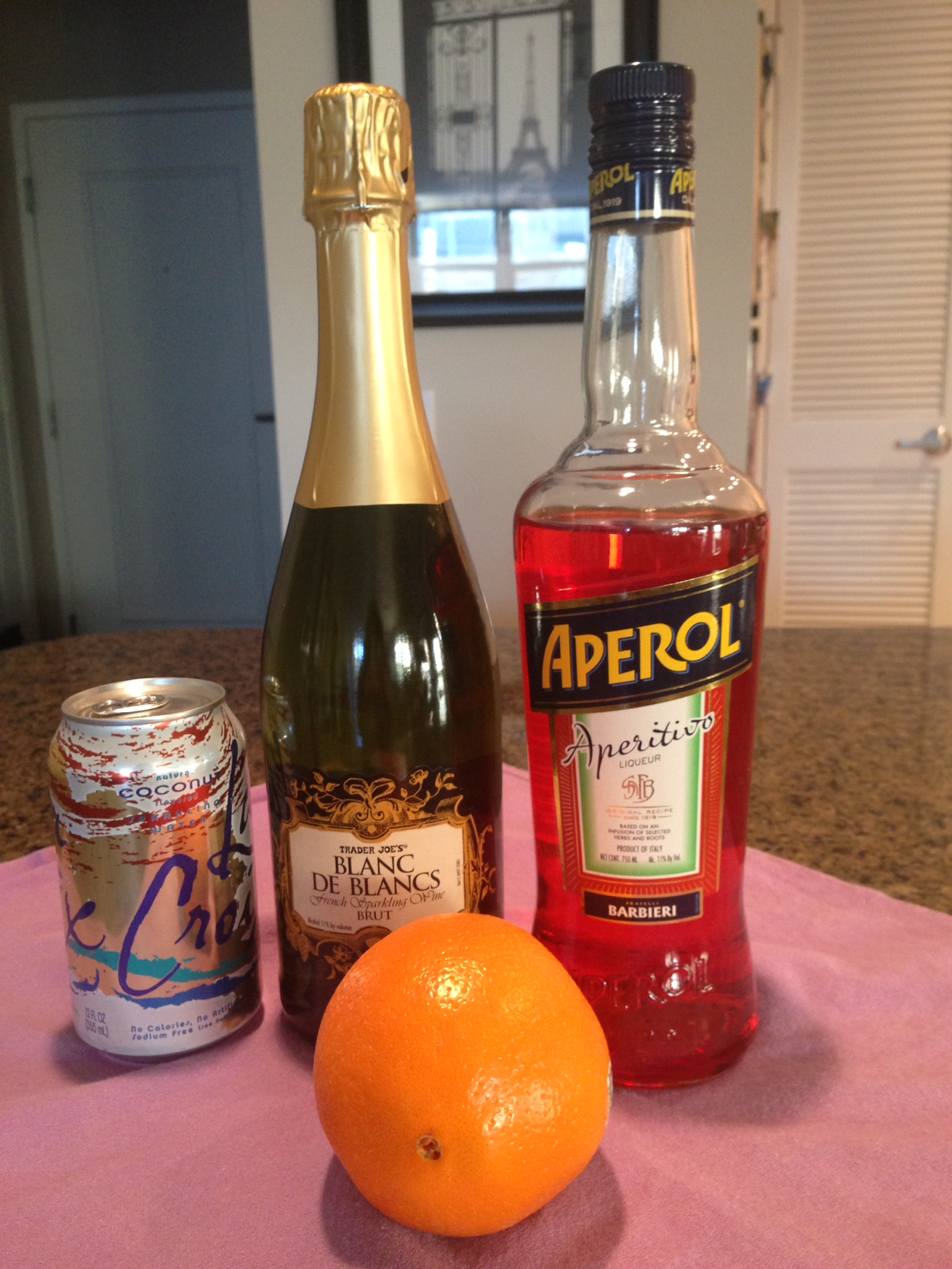 drink aperol blutorange