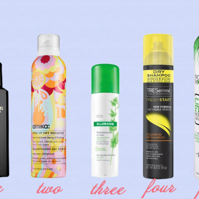 Save Time with Dry Shampoo