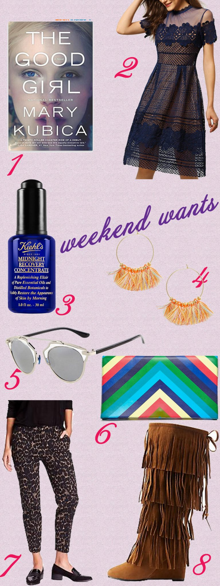 Weekend Wants - bargains I found during the blizzard 2016. www.glassofglam.com