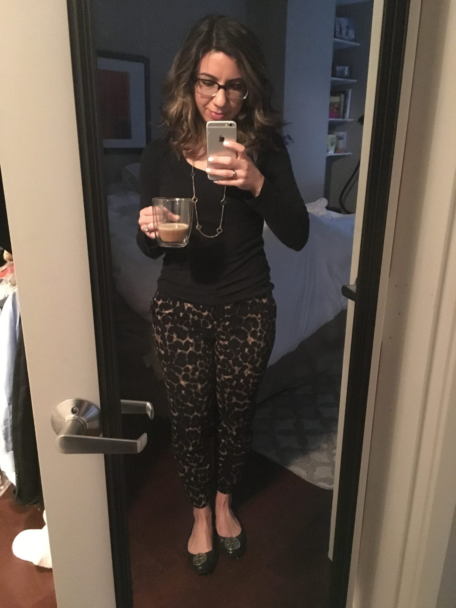 friday favorites leopard trousers