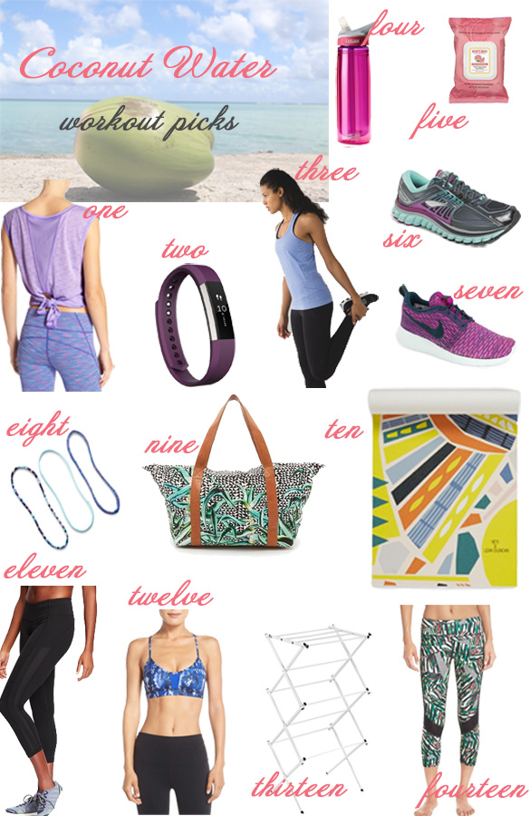 glass of glam - workout gear