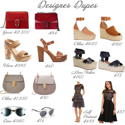 Friday Fizz: Designer Dupes