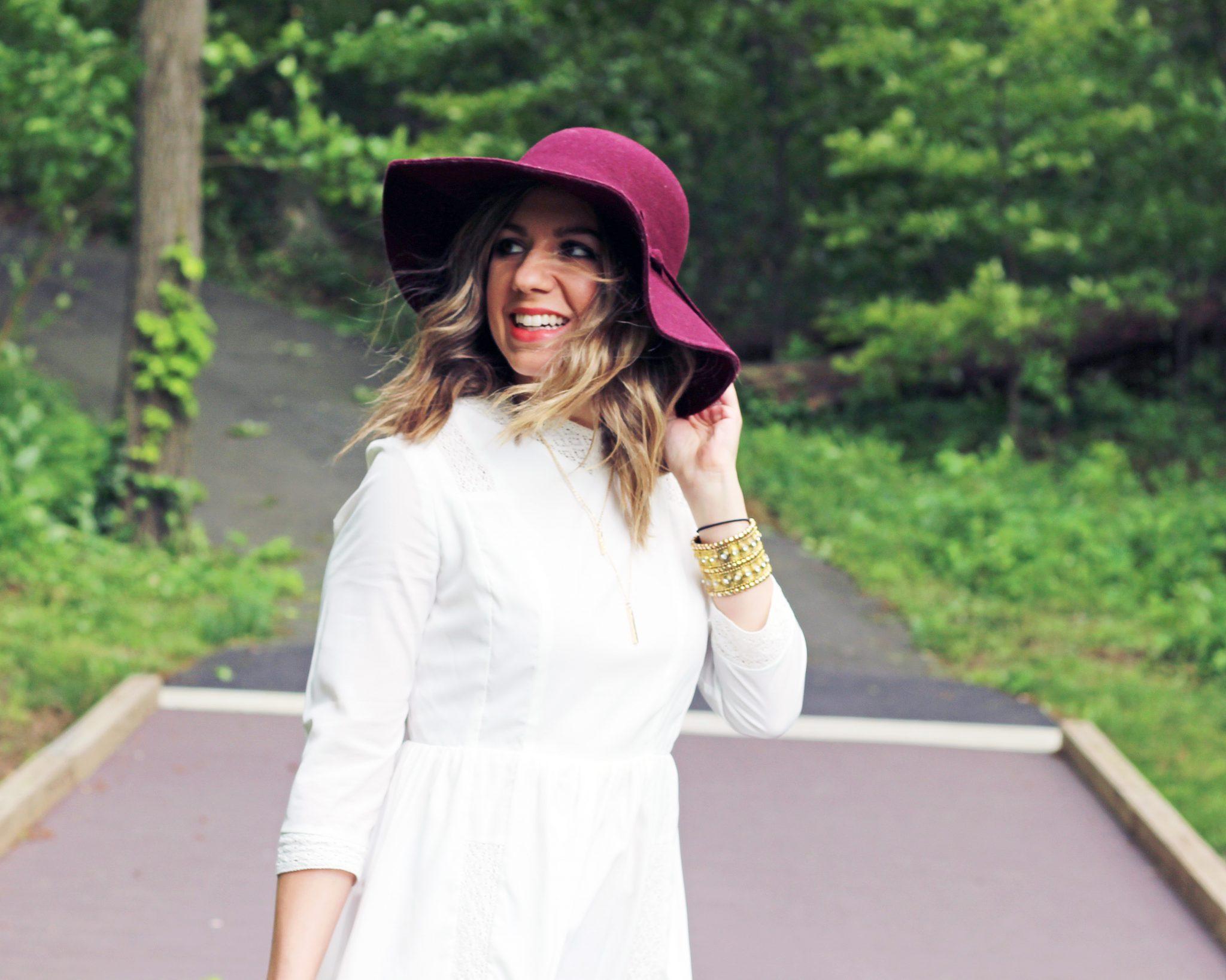 Little White Dress   Glass of Glam