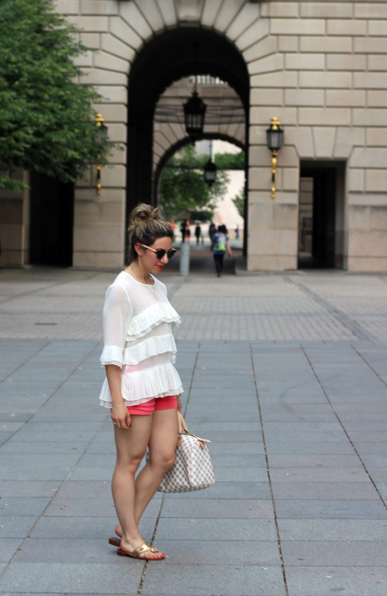 Ruffled Top | Glass of Glam