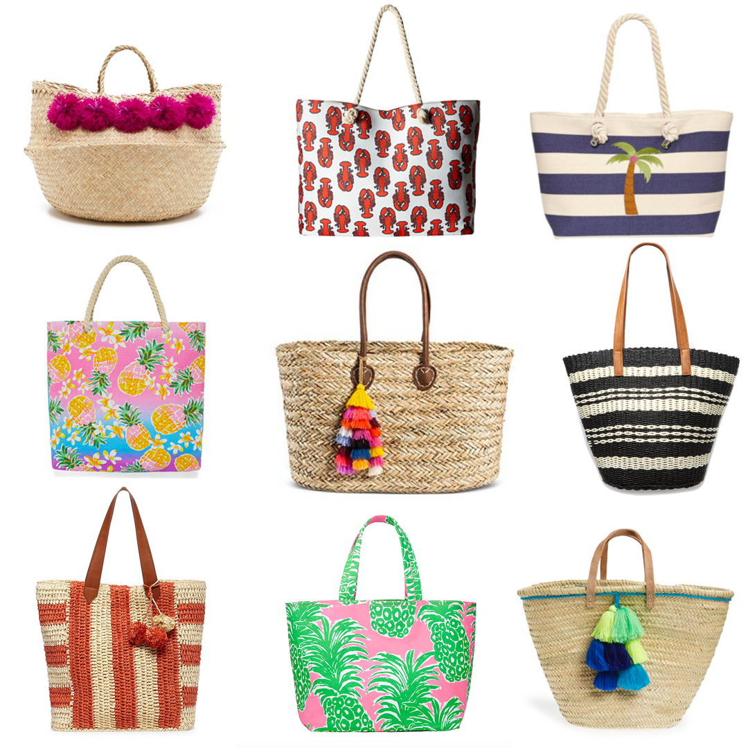 Friday Fizz: Beach Totes Under $100 | Glass of Glam