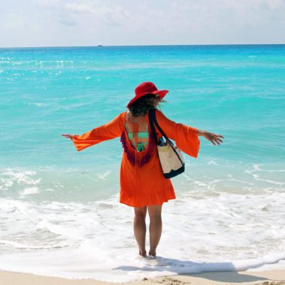 Mango Daiquiri: A Fun Affordable Tassel Beach Cover Up