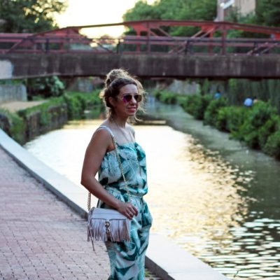 Shiso Martini: Palm Print Jumpsuit and Thursday Fashion Files