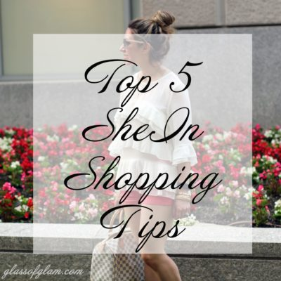 Weekly Refreshment: My Top Five Tips for Shopping at SheIn