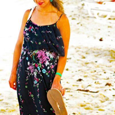Michelada: Floral Maxi Dress