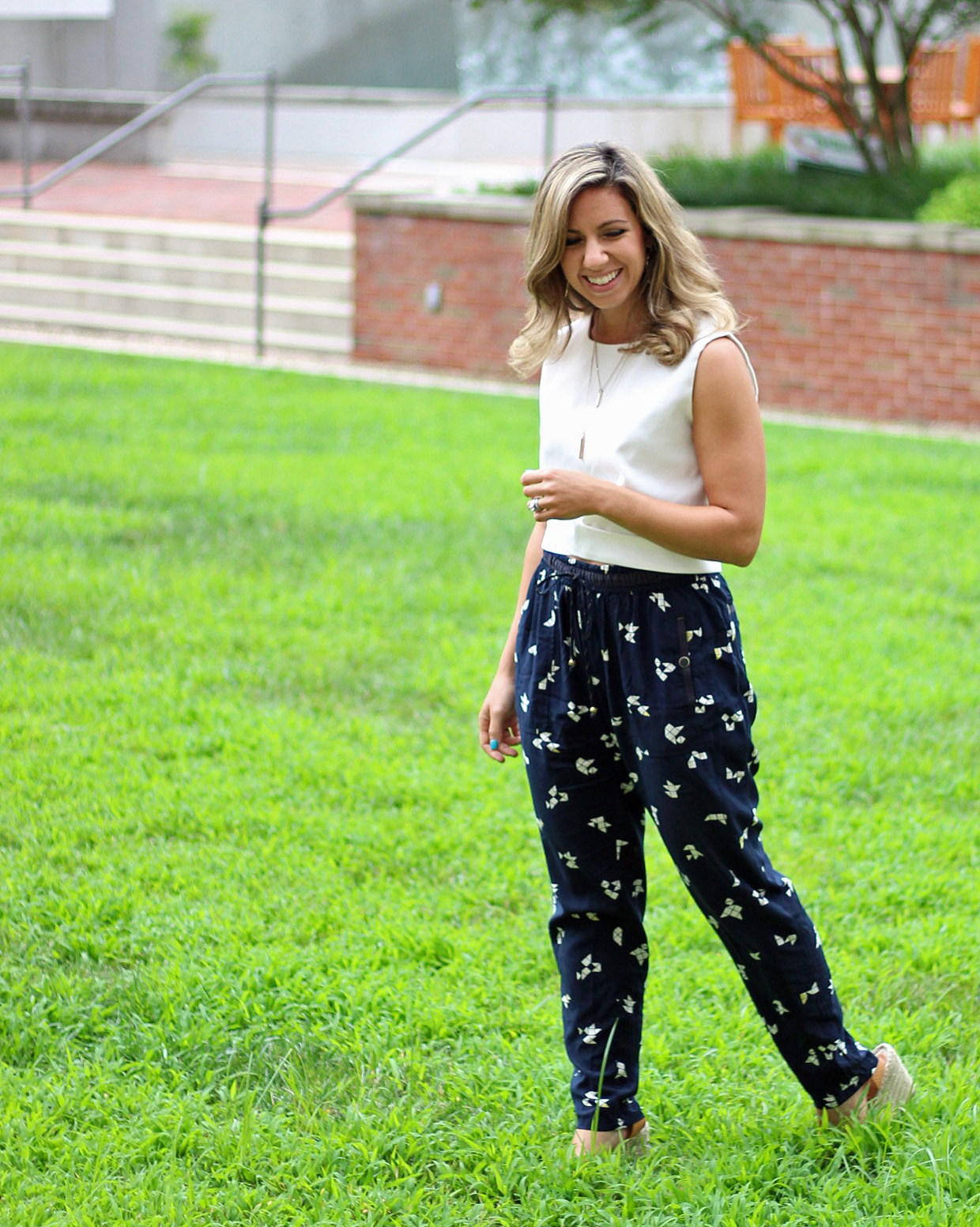 Patterned Pants | Glass of Glam