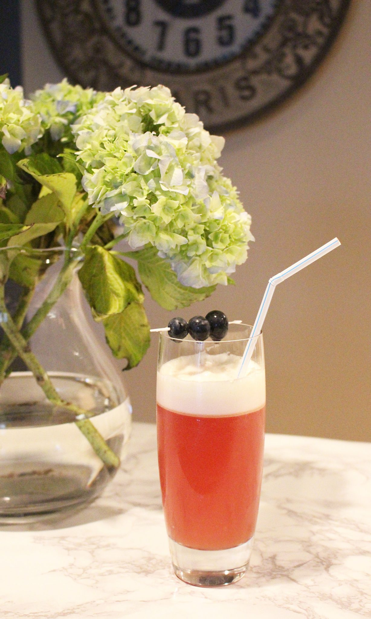 Blackberry Orange Fizz | Glass of Glam