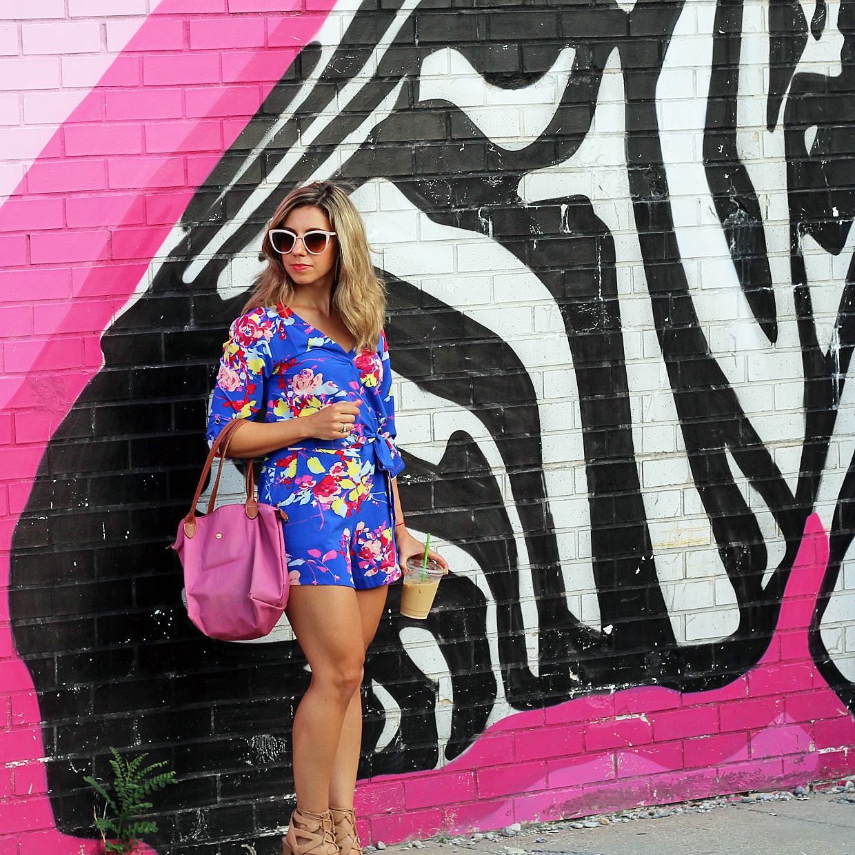Floral Romper | Glass of Glam