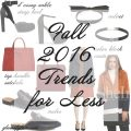 Friday Fizz Fall Fashion Trends for Much Less Glassofglam.com