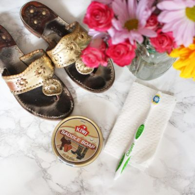 Weekly Refreshment: How to Clean Your Jack Rogers Sandals