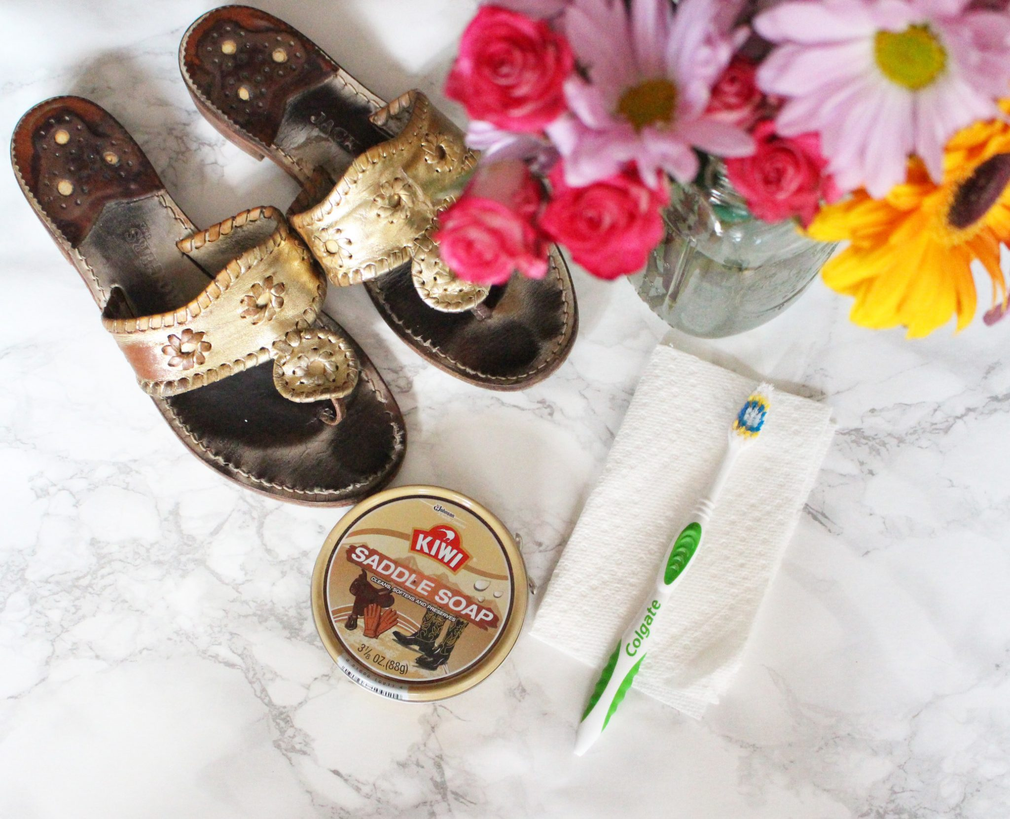 How to Clean YourJack Rogers Sandals via Glassofglam.com