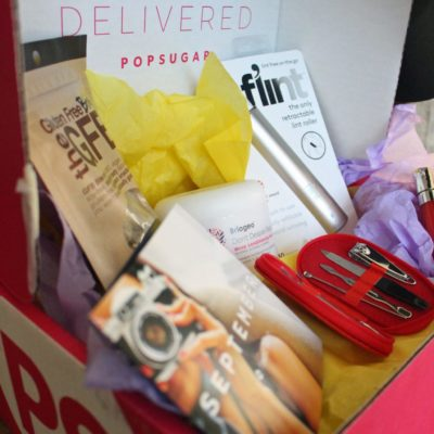 Popsugar Must Have Box September 2016