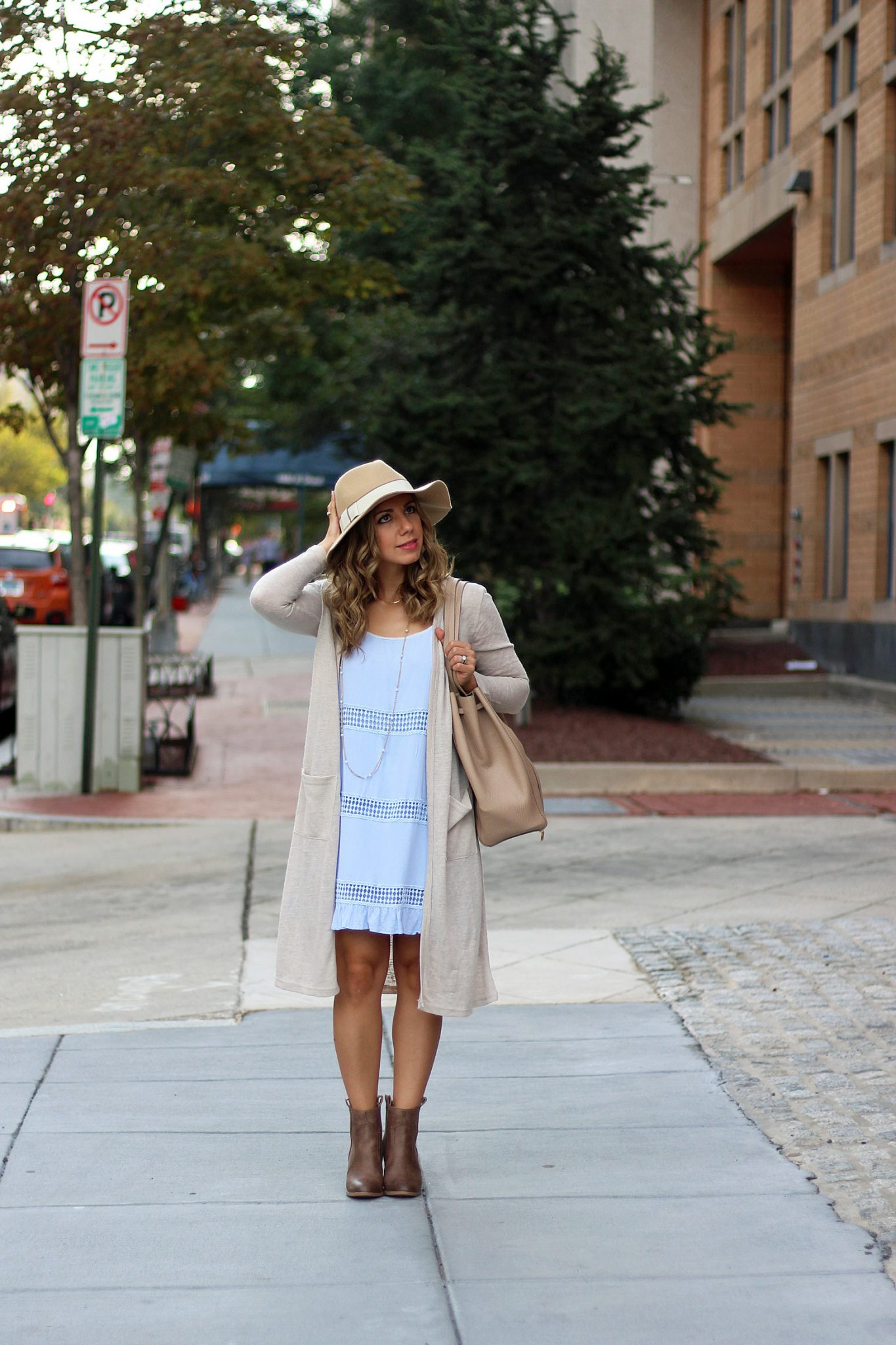 Blue Shift Re-styled for Fall & A Note on Tourists