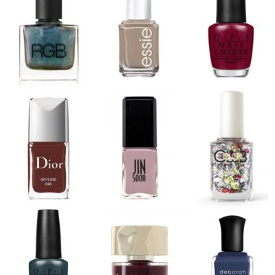 Friday Fizz: Nine Nail Polish Colors to Try This Fall