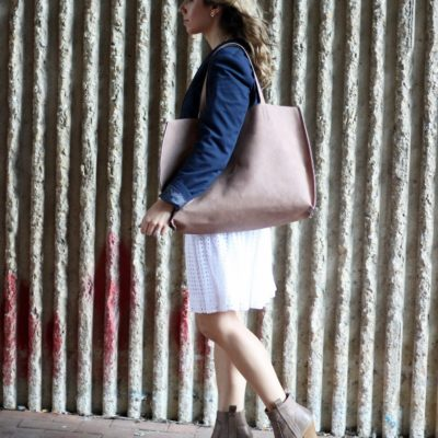 Re-styling a White Dress for Fall & Thursday Moda Link-Up!