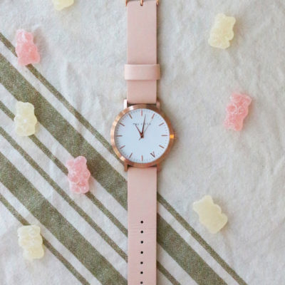 Weekly Refreshment: The 5th Rose Gold & Peach Watch
