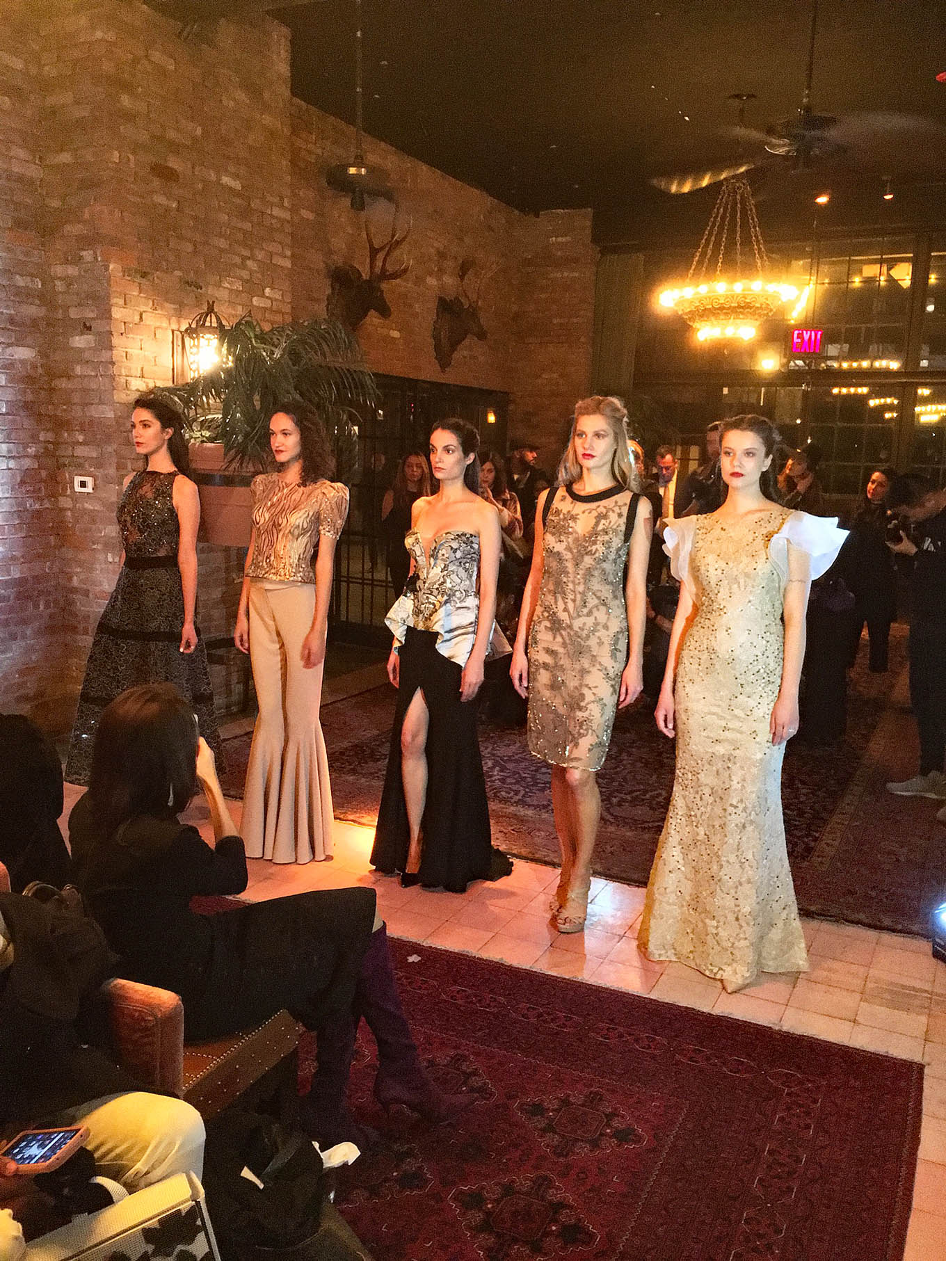 NYFW February 2017 Gemy Maalouf Launch
