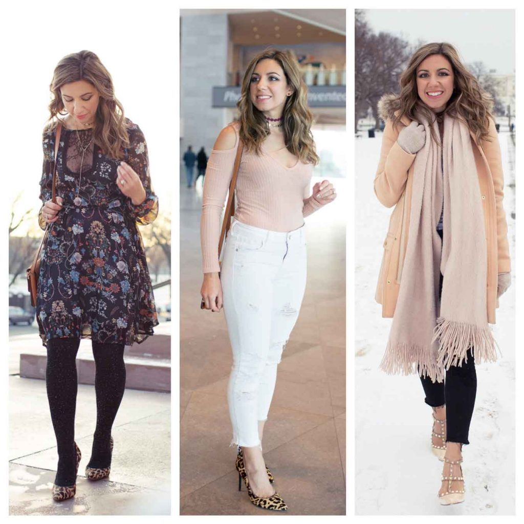 Lifestyle blogger Roxanne Birnbaum of Glass of Glam's January 2017 Outfit Roundup