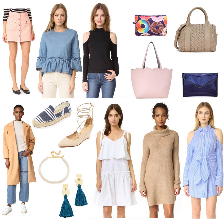 Lifestyle Blogger Roxane Birnbaum of Glass of Glam's ShopBop March Sale Picks