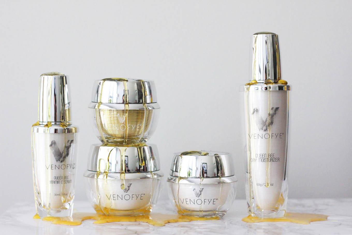 Venofye Queen Bee Skincare Review | Glass of Glam | A DC Style Blog