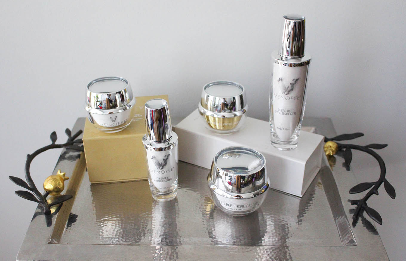 Lifestyle blogger Roxanne of Glass of Glam's review of Venofye Skincare - Venofye Queen Bee Skincare Review by popular DC beauty blogger Glass of Glam