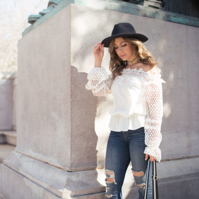 Edgy Lace & On Mondays We Link-Up(#9)