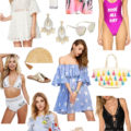Lifestyle Blogger Roxanne of Glass of Glam's Summer Style Collage