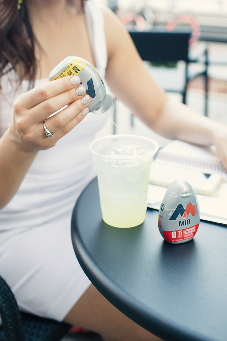 Lifestyle blogger Roxanne of Glass of Glam's tips for doing more and being more with Mio water enhancer - Life Hacks to Help You Do and Be MORE by popular DC lifestyle blogger Glass of Glam