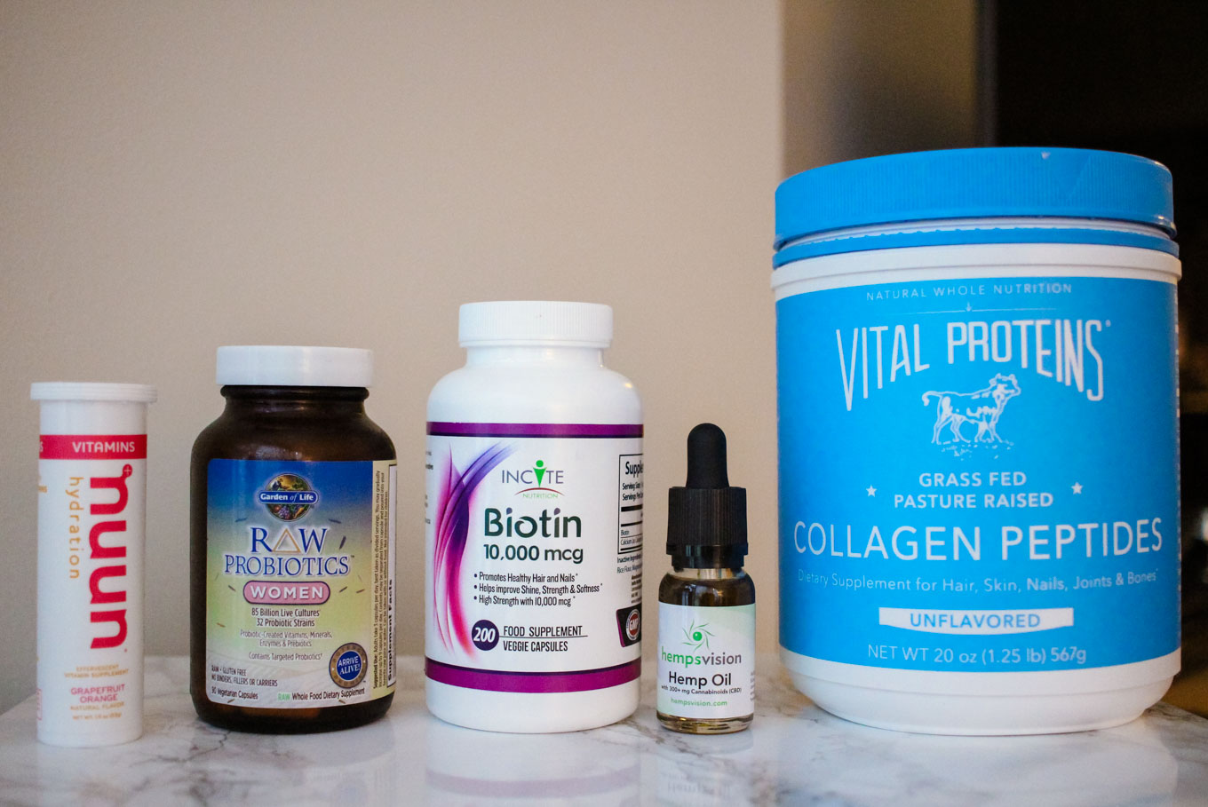 Lifestyle blogger Roxanne of Glass of Glam's favorite supplements