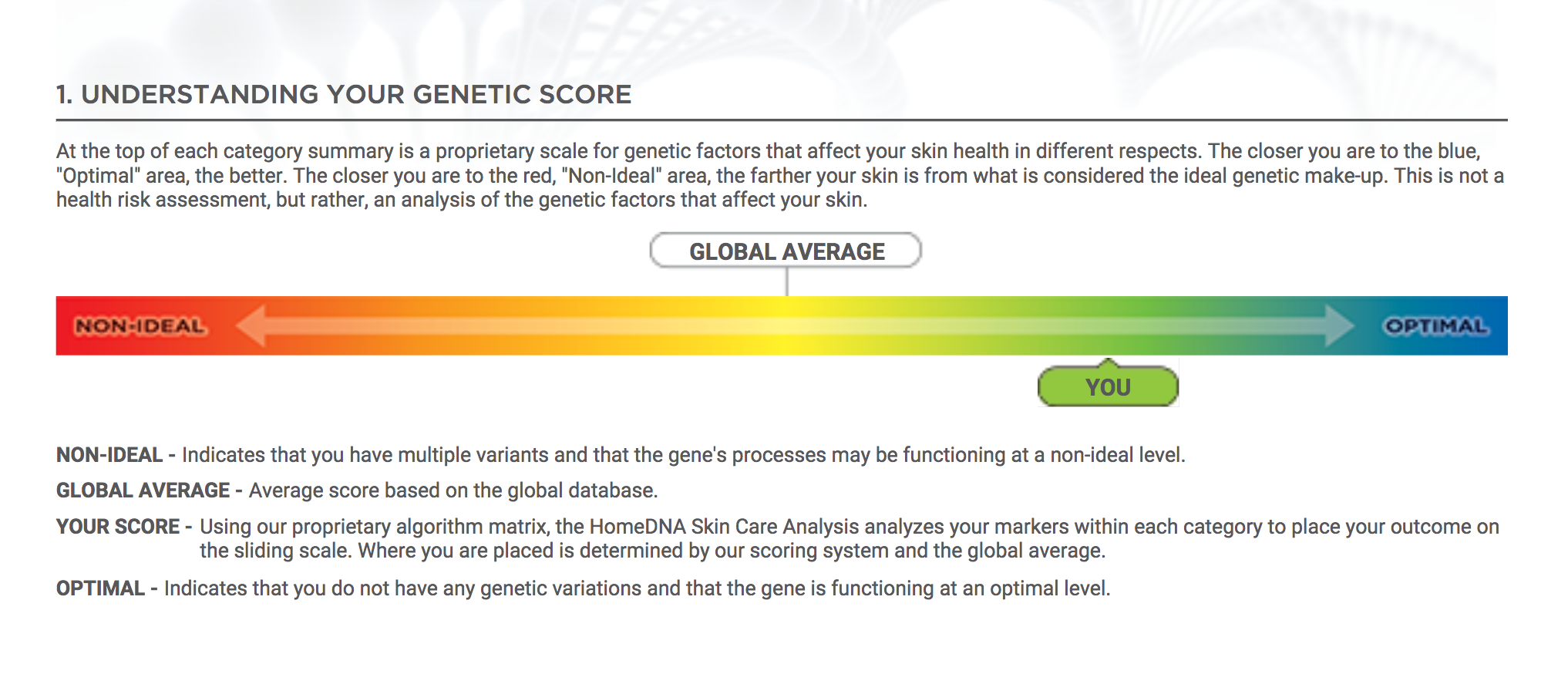 Lifestyle blogger Roxanne of Glass of Glam's review of the HomeDNA Skin Care Analysis
