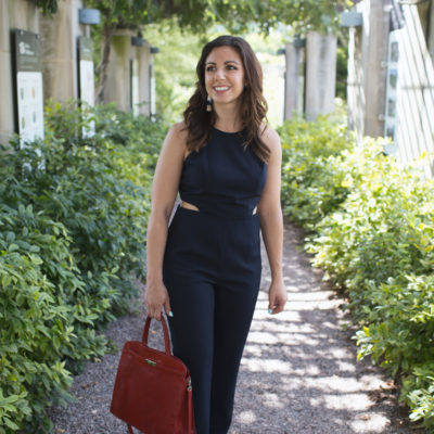 The Classic Jumpsuit You Need & On Mondays We Link Up (#33)