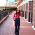 lifestyle blogger Roxanne of Glass of Glam wearing ModCloth Flares - 70s Vibes outfit by popular Chicago fashion blogger Glass of Glam