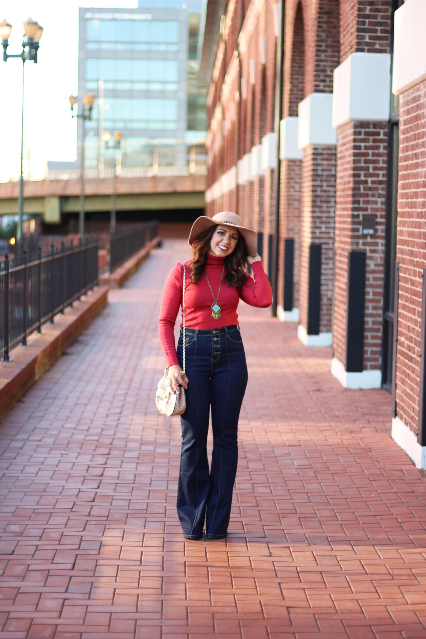 Lifestyle blogger Roxanne of Glass of Glam's 70's vibes with Modcloth - 70s Vibes outfit by popular Chicago fashion blogger Glass of Glam