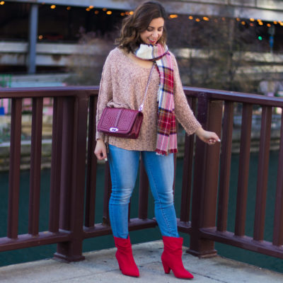Comfy Cozy Shades of Red & On Mondays We Link-Up! (#40)