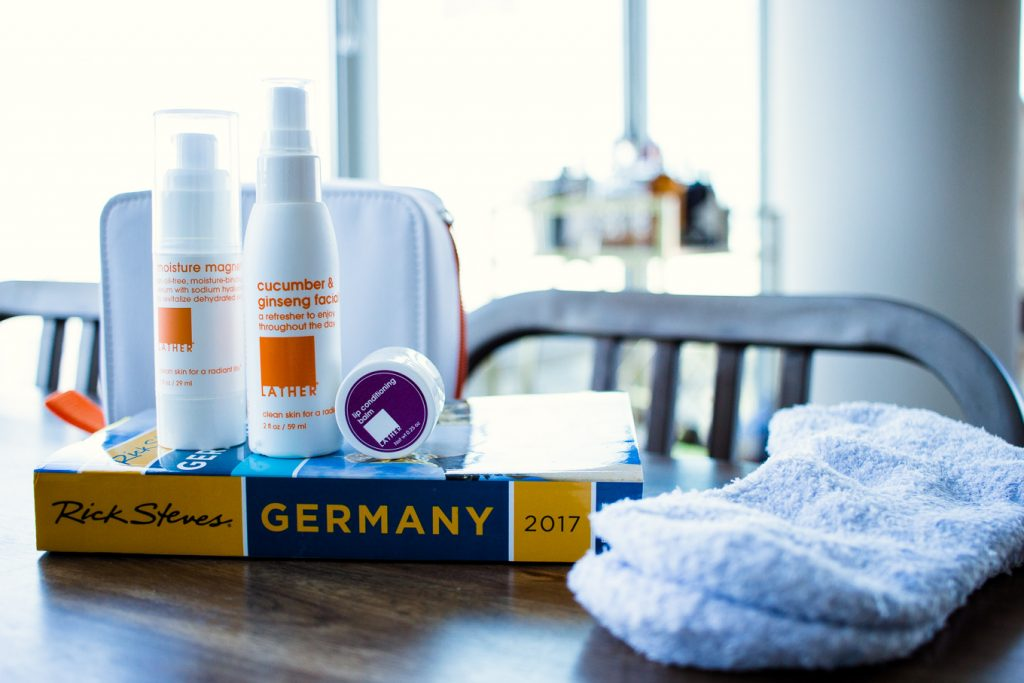Traveling to Germany with Lather's Mile High Skin Saver Travel Kit | The Perfect Travel Gift Idea for the Avid Traveler: Lather Travel kid features by top Chicago travel blog, Glass of Glam