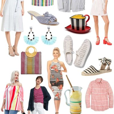 Friday Fizz: Springy, Striped Clothing Under $60