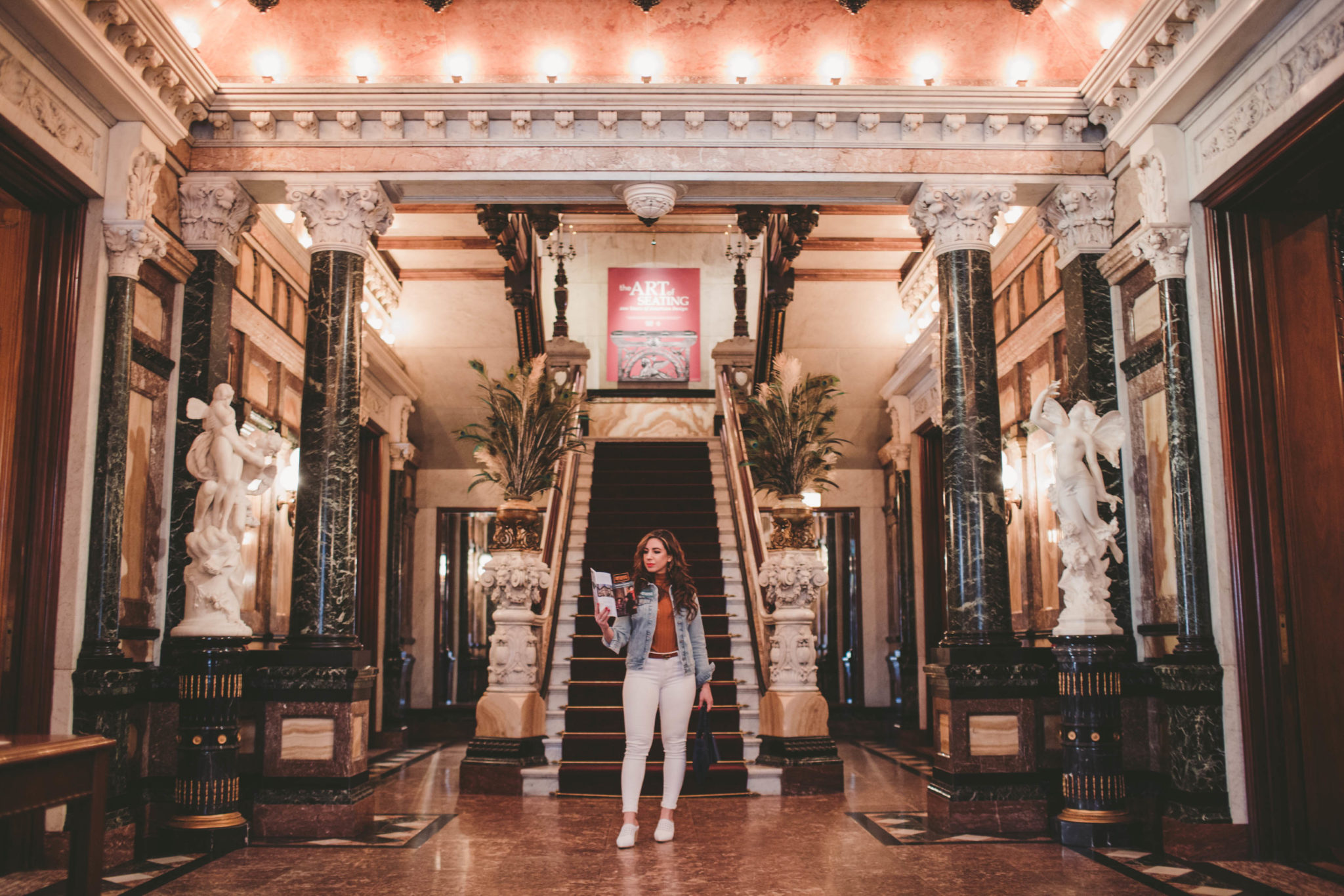 Chicago's Marble Palace & On Mondays We Link Up featured by popular Chicago blogger, Glass of Glam