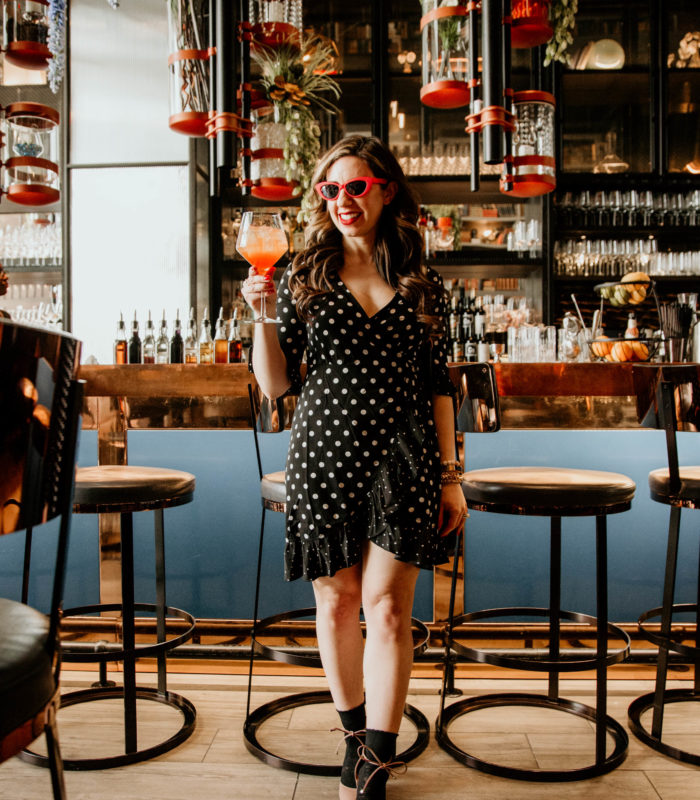 The Best Polka Dot Dress & On Mondays We Link Up (#67)