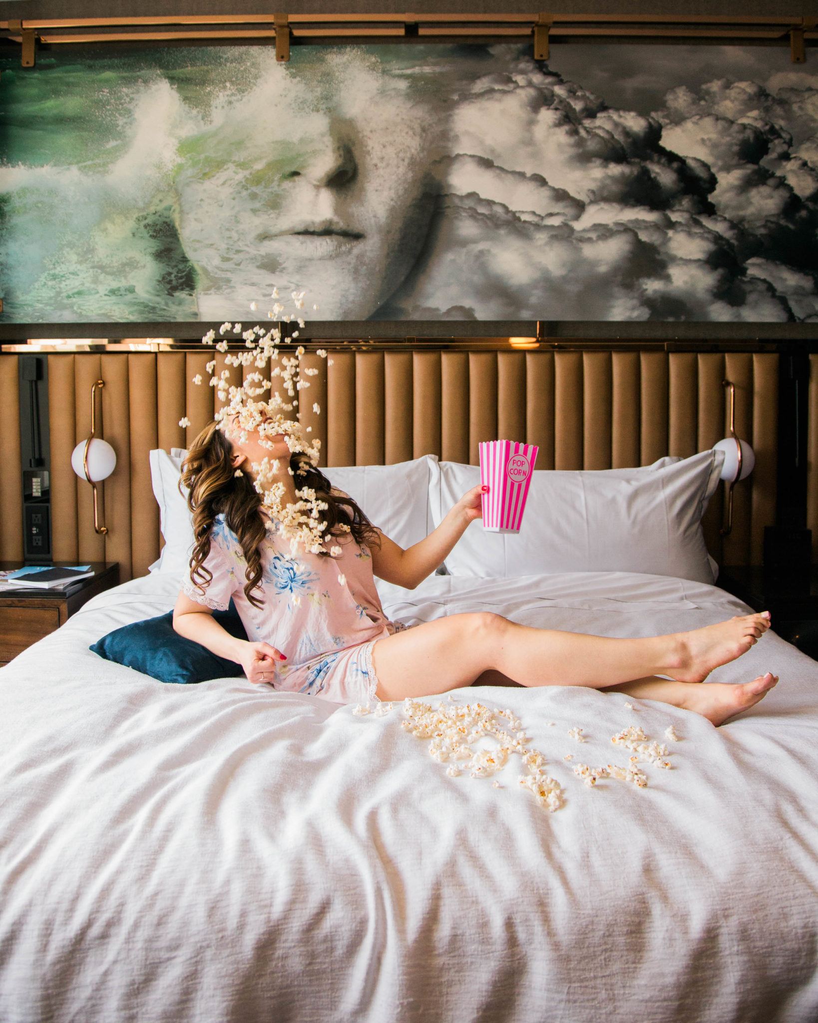Cute Summer Pajamas & Sleep Tips featured by popular Chicago fashion blogger, Glass of Glam