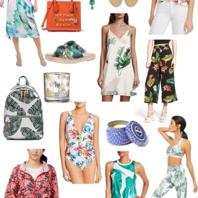Friday Fizz: Tropical Fashion Vibes