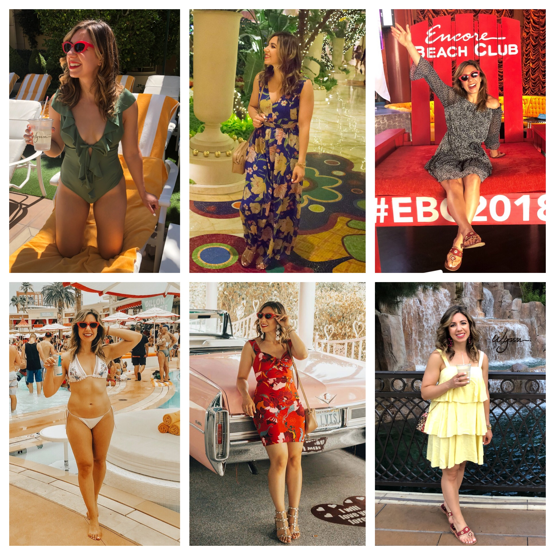 Vegas Outfit Roundup featured by popular Chicago style blogger Glass of Glam