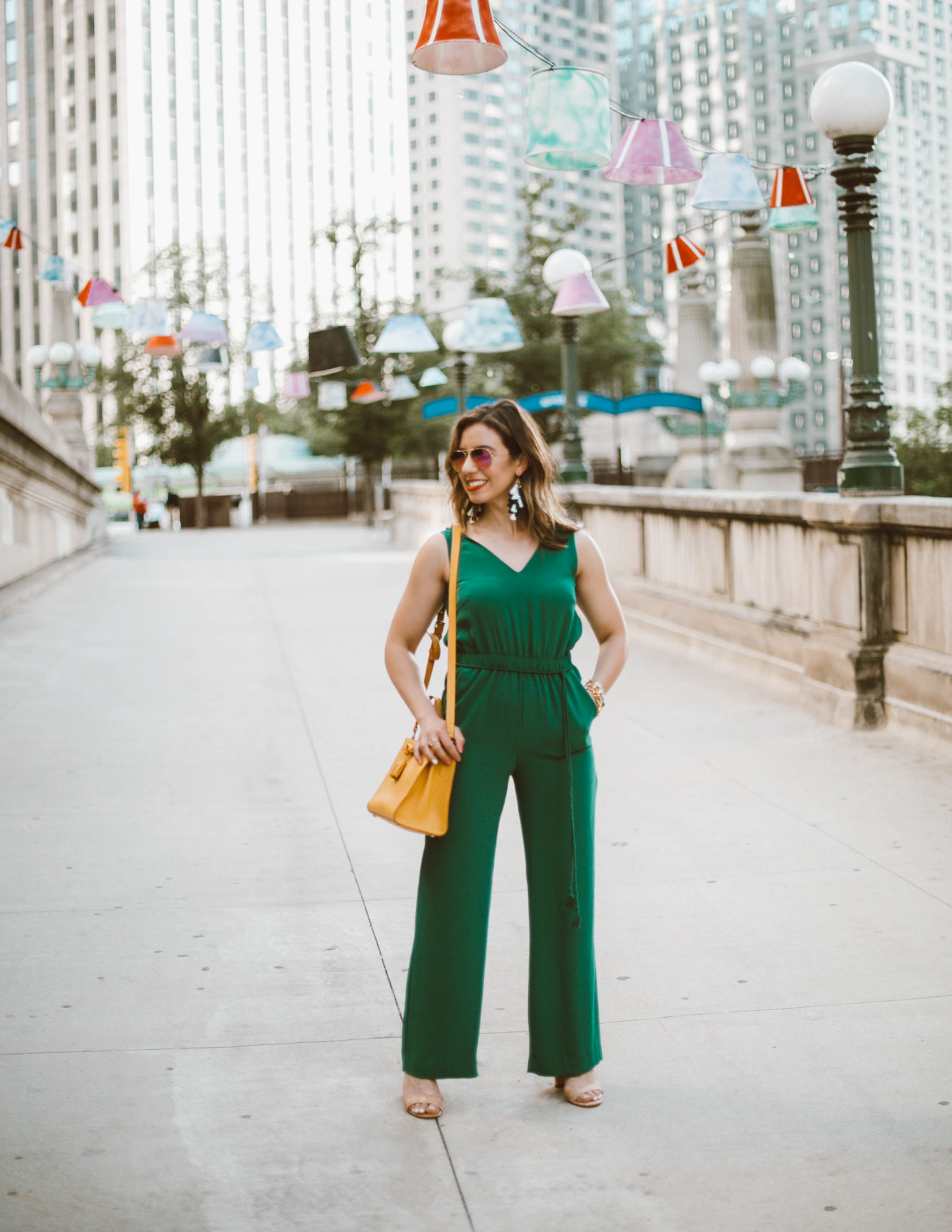 Ann Taylor | Appropriate Jumpsuits for Work featured by popular Chicago style blogger Glass of Glam