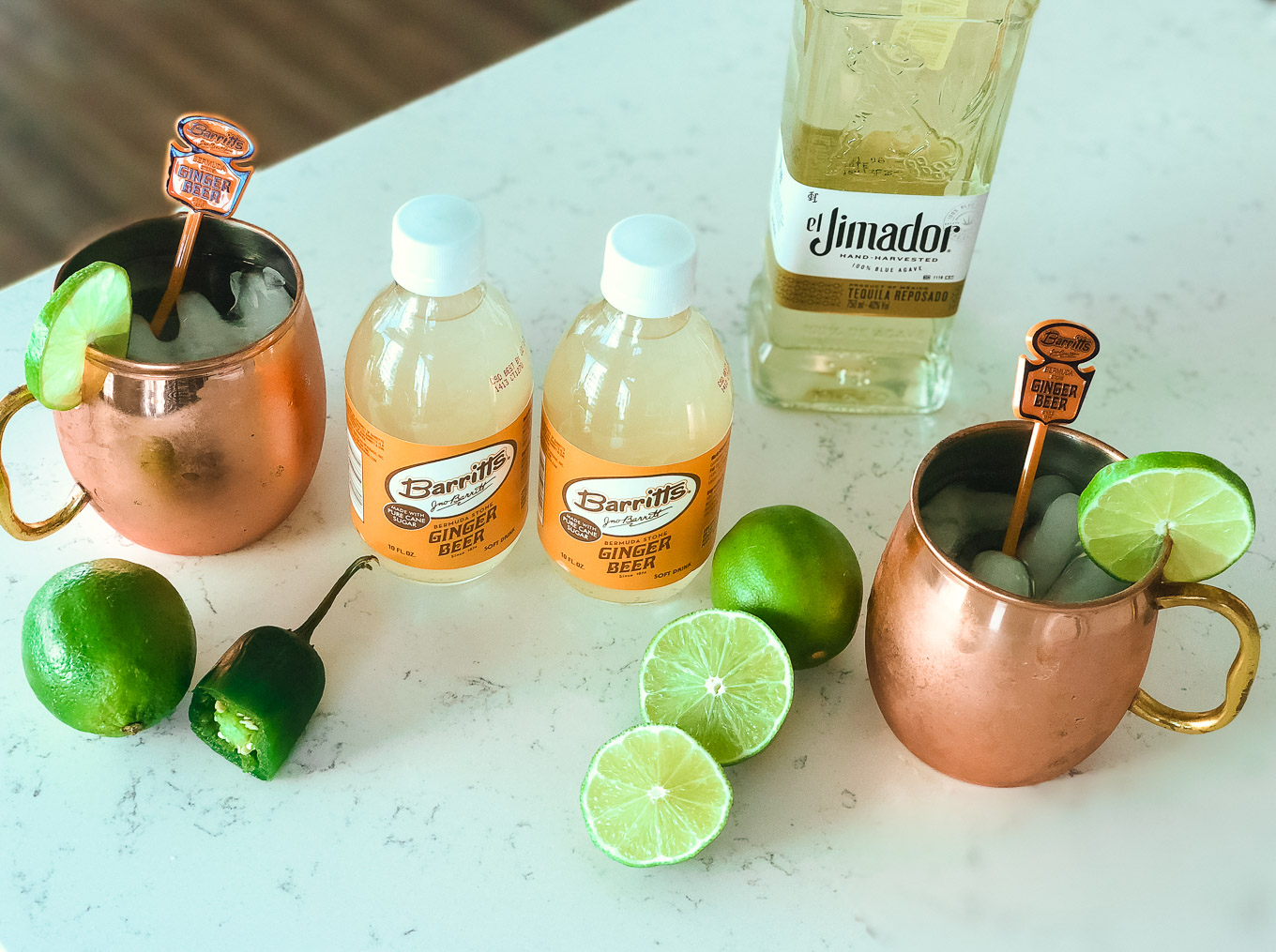 Barritts Ginger Beer Mexican Mule featured by popular Chicago lifestyle blogger Glass of Glam