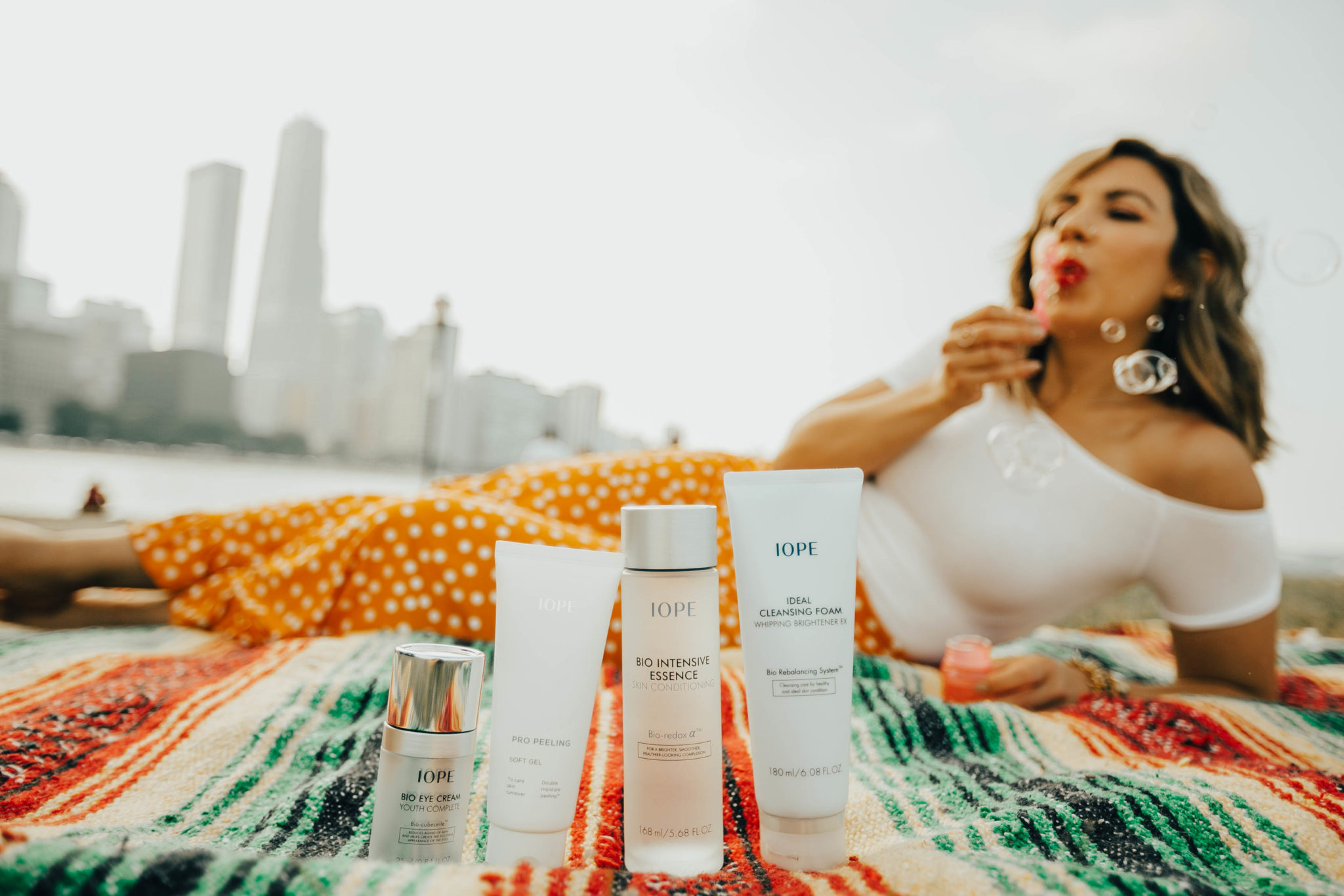 Korean Skincare Products | IOPE Skincare Giveaway featured by popular Chicago beauty blogger Glass of Glam