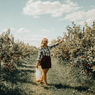 Apple Picking In Indiana & Link Up (#83)